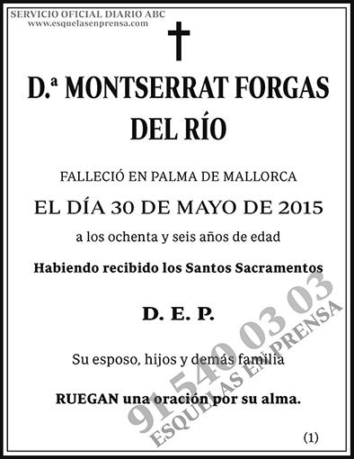Montserrat Forgas del Río